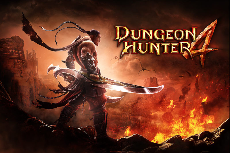 Dungeon Hunter 4 OFFICIAL Launch Trailer - iOS