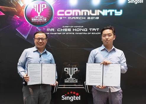 Singtel announces 2019 SEA Games sponsorship for Team Singapore